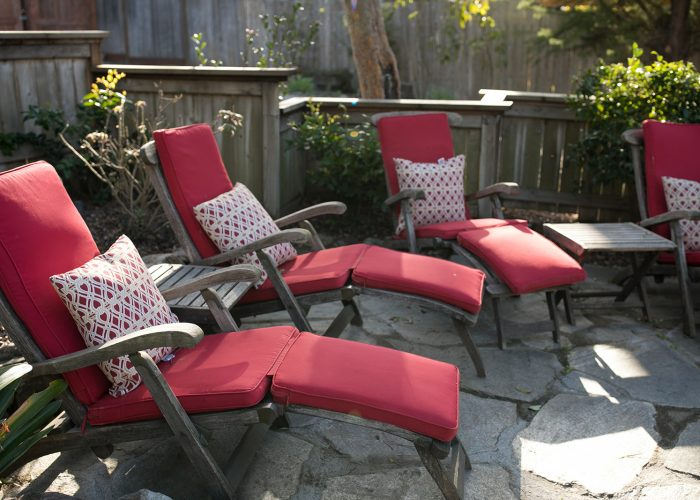 J. Patrick House shared patio